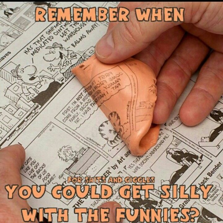 """My """"Silly Putty"""" had old carpet fibers in it from dropping it so many times."""