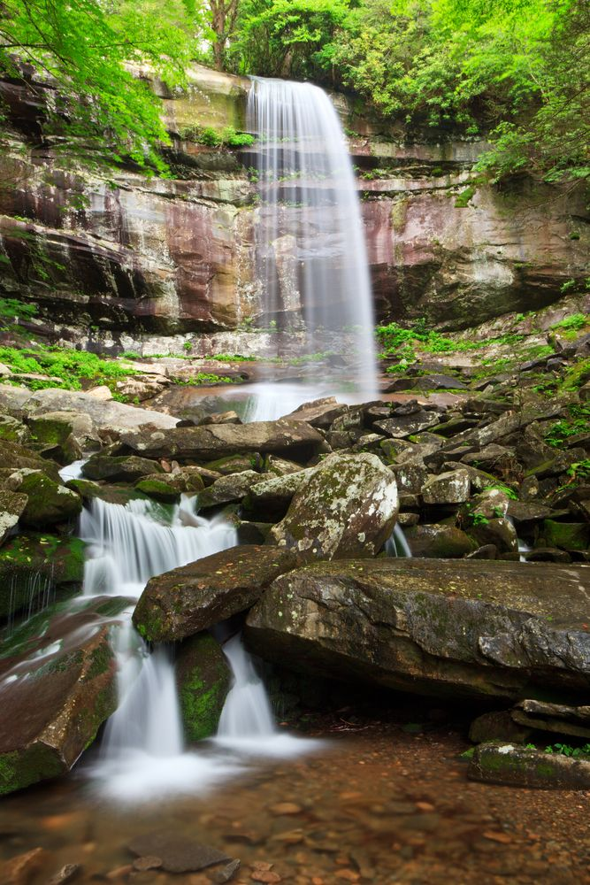 Rainbow Falls - This gorgeous waterfall is a favorite among the locals. If you want to see a beautiful waterfall in the Smokies while you are on vacation, this is one you won't want to pass up!