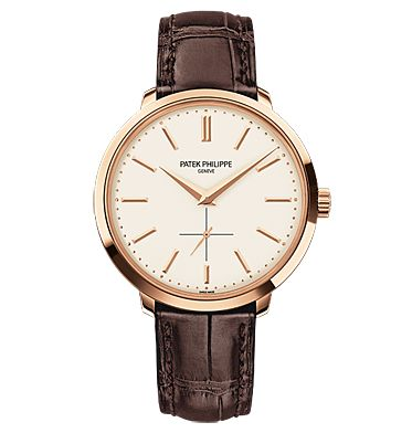Patek Philppe SA - 5123R-001 - Rose Gold - Men's Calatrava.    You never truly own a Patek Philippe.  You merely look after it for the next generation.
