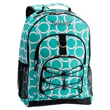 Gear-Up Preppy Rings Backpack, Pool #pbteen