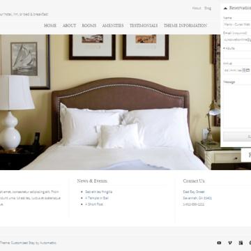 Plantilla WordPress gratis para Hoteles y Casas Rurales