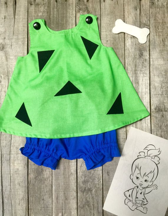 Pebbles Costume  Pebbles Halloween Costume  by PamiesBabyThreads