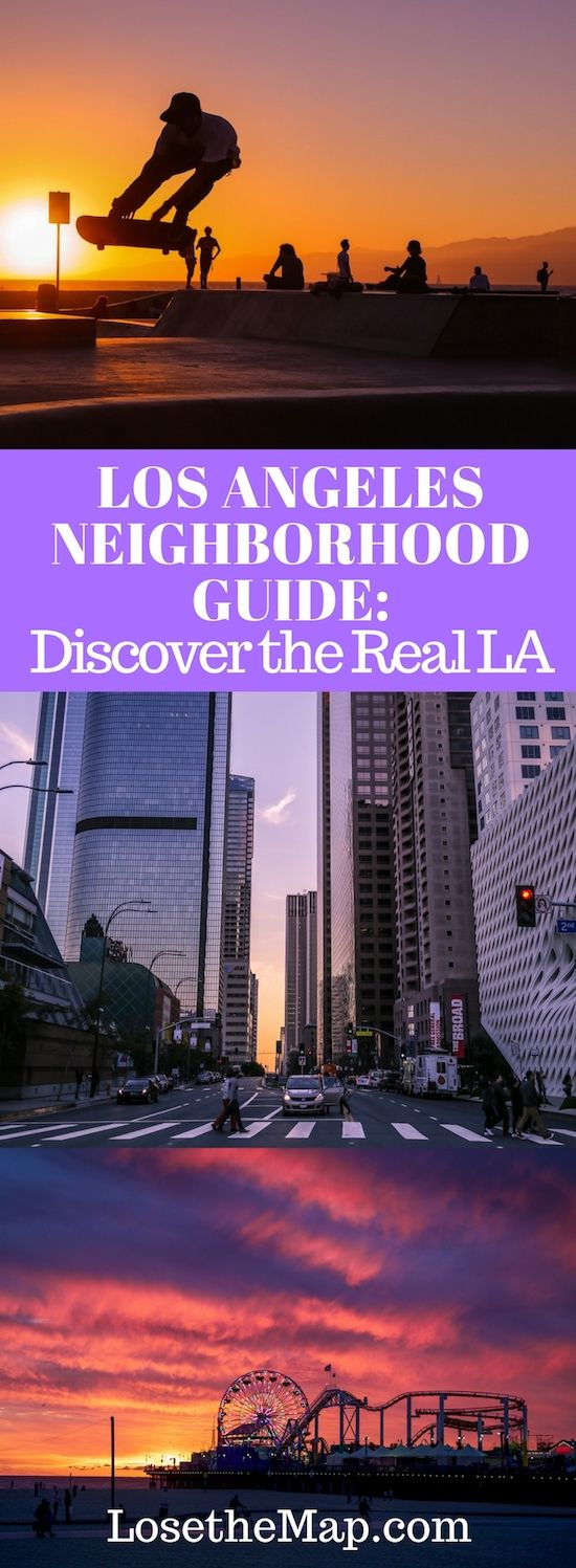 Use this LA Neighborhood Guide to discover what Los Angeles really has to offer, outside of the tourist centers of Hollywood Blvd. and Venice Boardwalk.