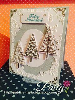 pinos navideños... Manualidades Fantasy