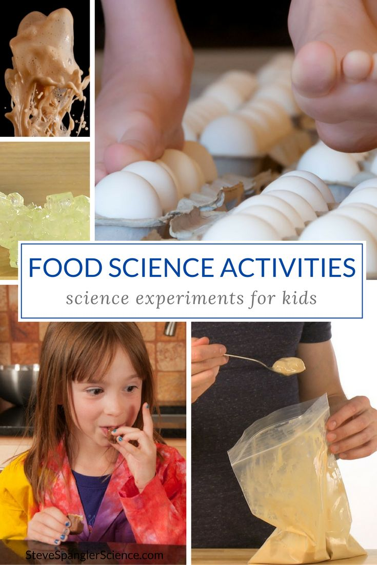 science projects with food This is a special category just for food science projects - we added this because many of our members are very interested in food science projects.