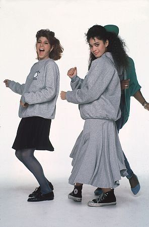 Marisa Tomei and Lisa Bonet from A Different World