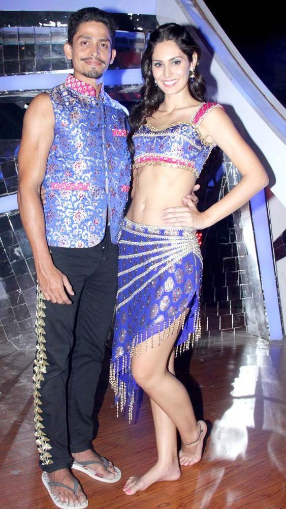Omar Farooque and Bruna Abdullah on 'Nach Baliye 6'. #Fashion #Style #Beauty #Bollywood