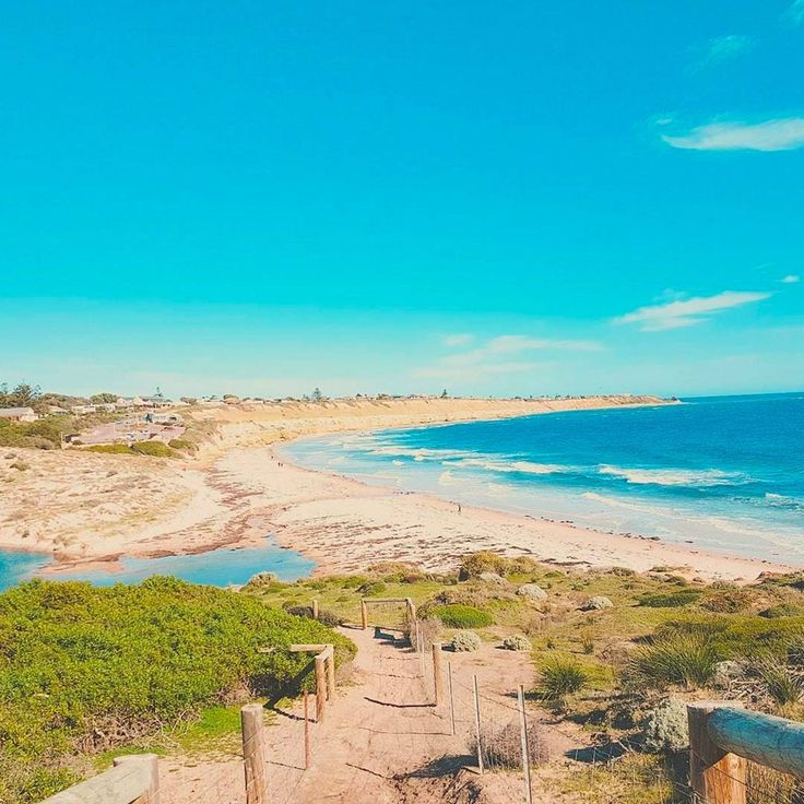Port Willunga beach in McLaren Vale, South Australia is truly gorgeous.      Photo by @sarahmatkovic.