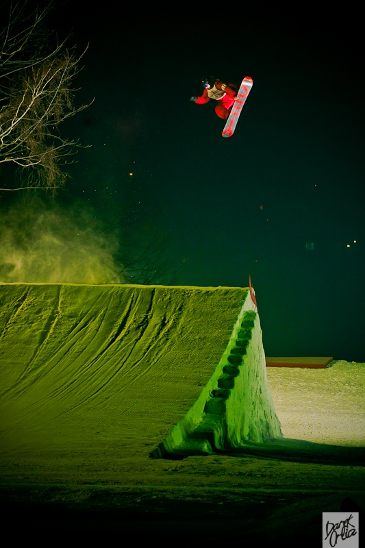 photo from one of the biggest Polish competition- Burn on snow, Szczyrk '12  foto by Darek Orlicz