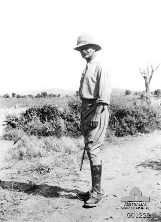 General William Riddell Birdwood, General Officer Commanding Australian and New Zealand Army Corps (ANZACS), near Hill 60, October 1915. ANZAC is the acronym formed from the initial letters of the Australian and New Zealand Army Corps, the formation into which Australian and New Zealand soldiers were grouped in Egypt prior to the landing at Gallipoli in April 1915. See here for full post- http://www.awm.gov.au/encyclopedia/anzac/acronym/
