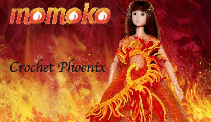 How to Crochet Phoenix for Momoko doll