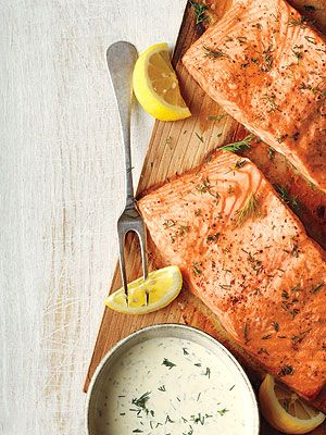 Dinner tonight: Seasons 52's Roasted Salmon