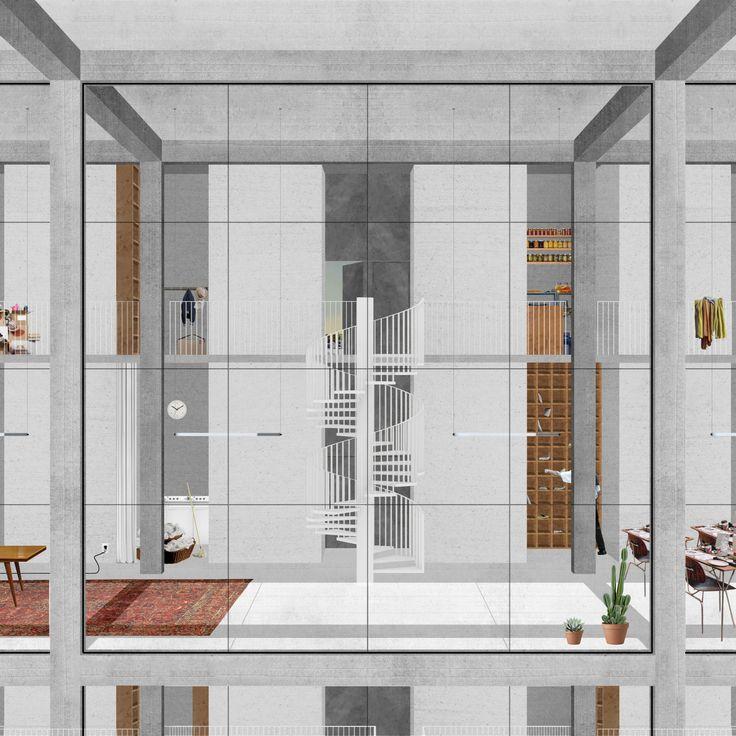 Drawing Through Form And Composition | Karolina Czeczek @ Yale School of Architecture, Project from advanced design studio, Spring Spring 2014, Pieri Vittorio Aureli_4