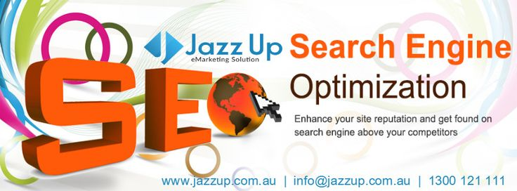 Search Engine Optimization:  Jazz Up is a digital marketing agency works professionally for other businesses growth. We provide professional SEO services to make your business website online presence stronger. Jazz Up helps your website to get high ranked organically, through different techniques.  Website : www.jazzup.com.au Mail : info@jazzup.com.au Phone : 1300121111