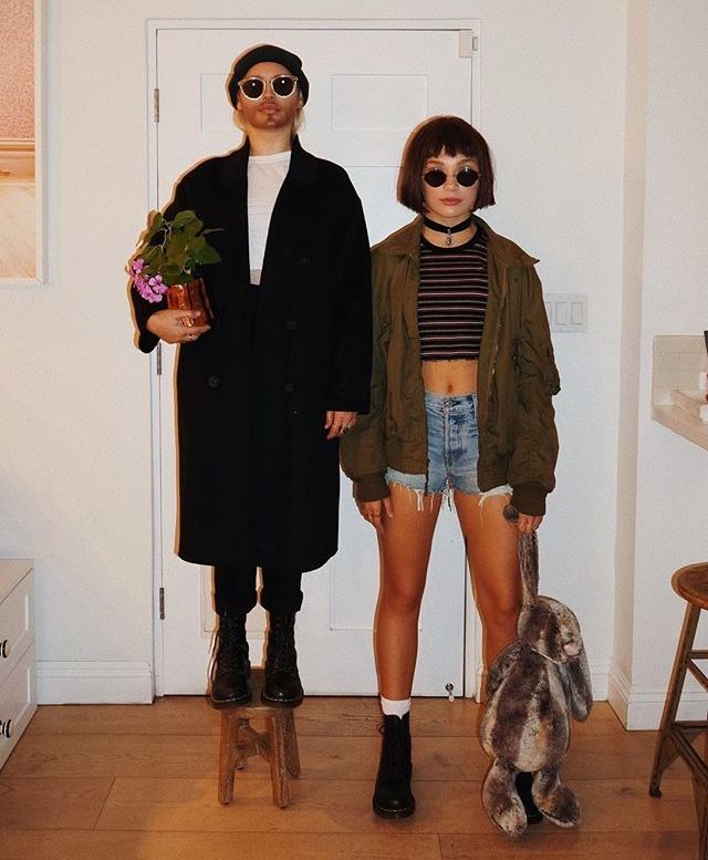 Leon The Professional Halloween Outfit Maddie Ziegler Professional Halloween Costumes Halloween Costumes Friends Movies Outfit