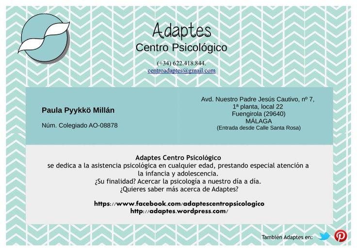Psicólogo en Fuengirola. Adaptes centro psicológico