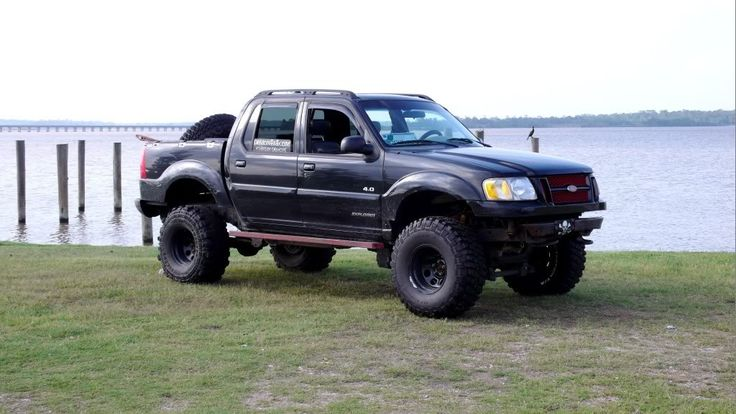 lifted ford explorer sport trac ford trucks pinterest. Cars Review. Best American Auto & Cars Review