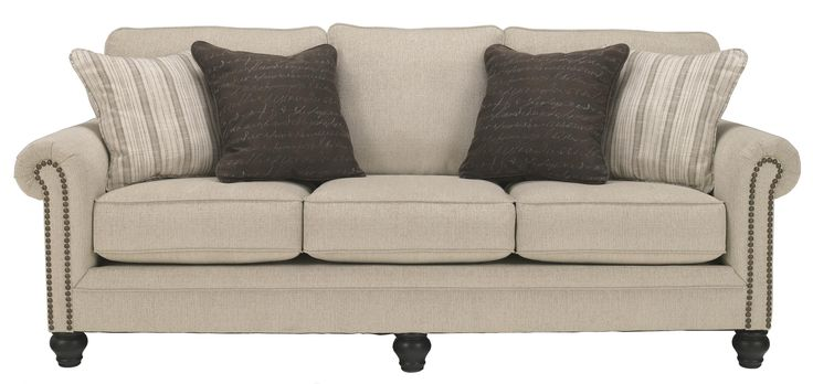 Milari Linen Sofa By Signature Design By Ashley Furniture Seasons Summer