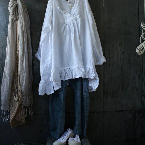 Slouch lino pantaloni taglia piccola/media che questi pantaloni danno un look rilassato sciolto, ottimo per tutte le stagioni. Ho una coppia di sinistra   Spedizione gratuita in Italia $14 USD di spedizione internazionale  Dimensioni piccole e medie
