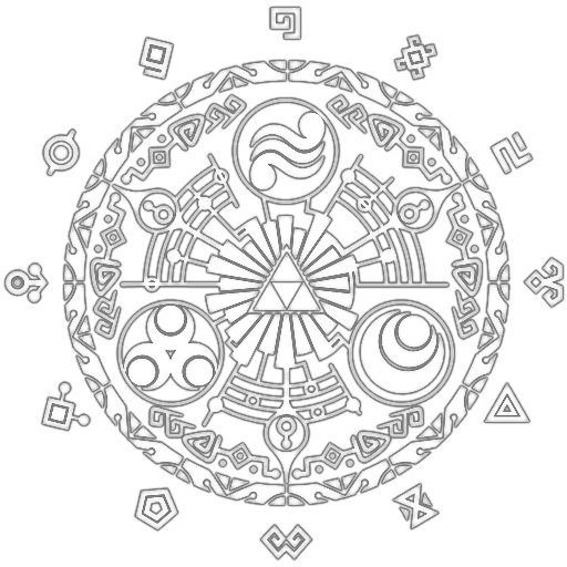 74 best images about legend of zelda coloring pages on pinterest