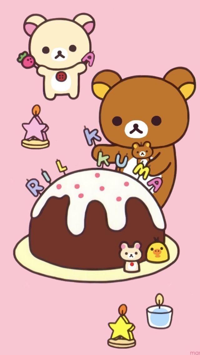 Cute Birthday Cake Wallpapers Wallpaper Dibujos Kawaii Hello Kitty Y Kawaii