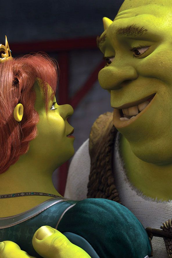Shrek-such a cute love story and great soundtrack, I love all of these movies