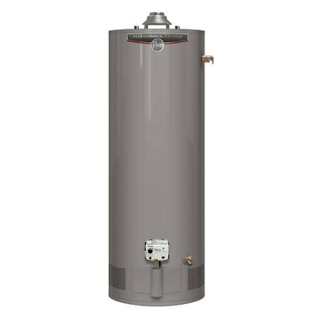 Rheem Performance Platinum 40 Gal Tall 12 Year 36 000 Btu Liquid Propane Tank Water Heater 40 Gal Tank Provides Ample Hot Water Delive Natural Gas Water Heater