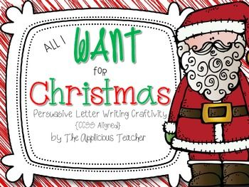 Use this letter writing craftivity to have your students create a persuasive letter to Santa convincing him to bring one special item on Christmas. This pack includes: -brainstorm  Rough draft letter form (primary and intermediate) Final draft writing paper (primary and intermediate) CCSS aligned rubric General rubric Santa craft sample Santa craft template  CCSS Covered W.2.1,  W.2.5 L2.2., L.2.2d, L.2.e