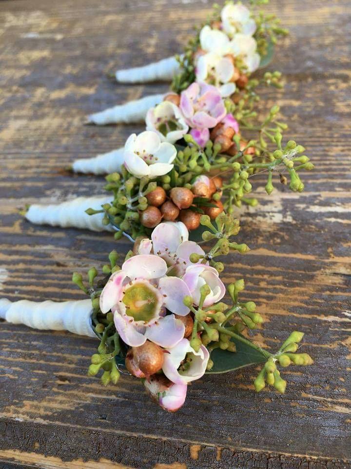 Fresh Flower Wedding Accessories
