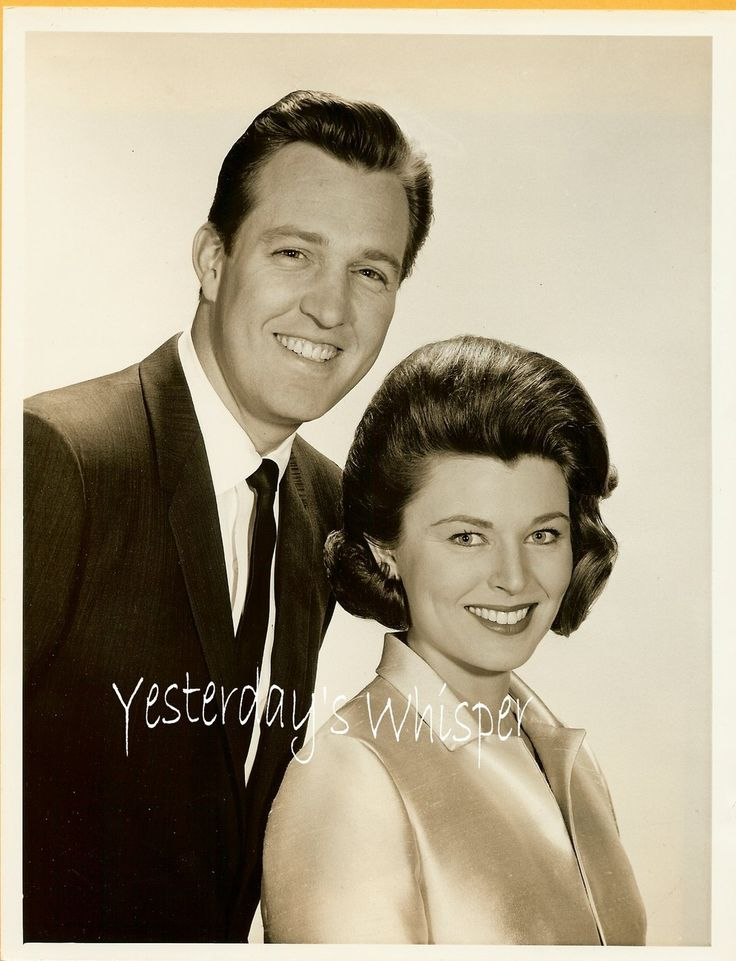 Jack Linkletter and Marilyn Van Derbur (Miss America 1958) - NY ...