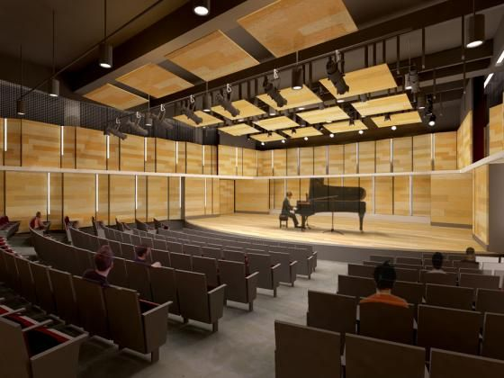 Los Angeles City College, Clausen Hall Modernization @HGA Architects and Engineers