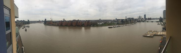 Looking a renting an apartment in London with my girlfriend and kids and I think I found the one. It even has its own helicopter pad over looking the river Thames England