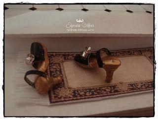 Shabby Dollhouse: Ein Badezimmer.....