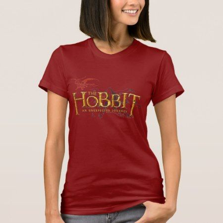 The Hobbit Logo Over Mountains T-Shirt - tap to personalize and get yours
