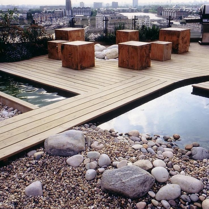 Roof Terrace Garden Design: 223 Best Decking And Timber Images On Pinterest