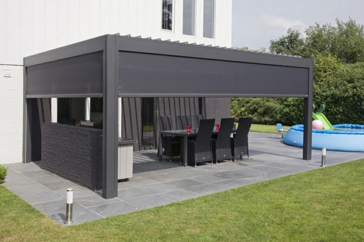 camargue terrace cover louvered patio covers camargue pinterest. Black Bedroom Furniture Sets. Home Design Ideas