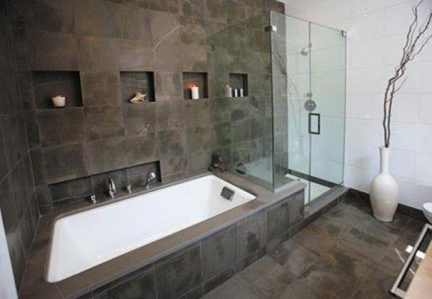 Nog een mooi idee, voor mijn hopenlijke toekomstige badkamer. Prachtig.