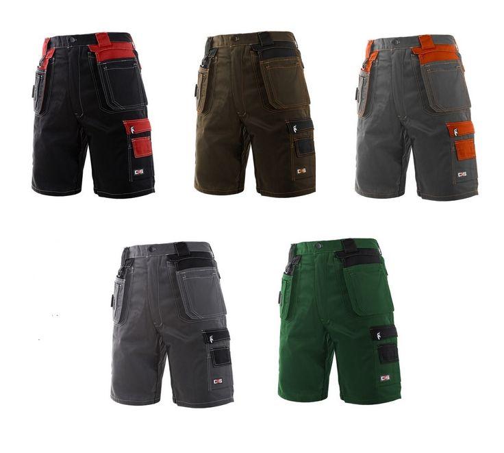 Krótkie spodnie robocze typu szorty - idealne na letnią pogodę - Glovex