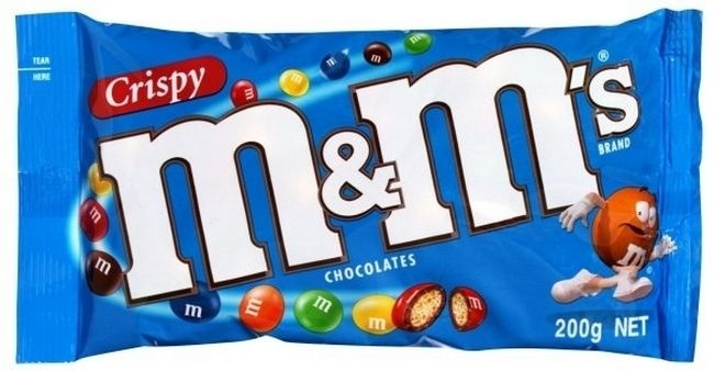 Foods From Your Childhood That Sadly No Longer Exist - Crispy M&M's