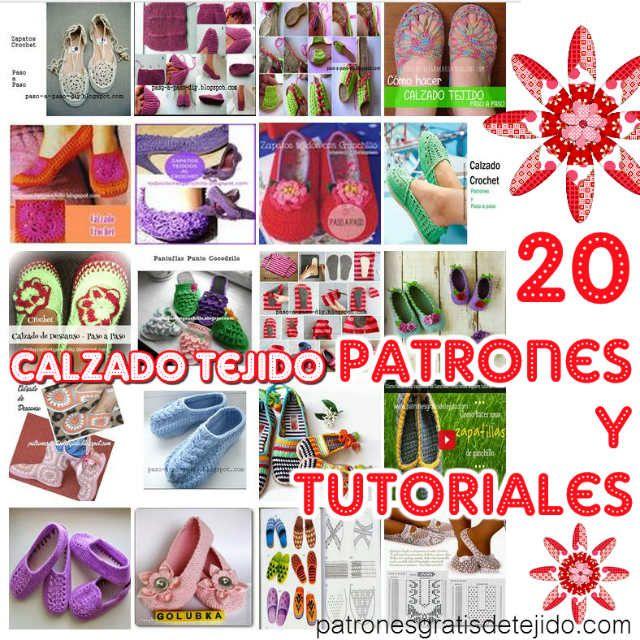 295 best zapatillas images on Pinterest | Zapatillas, Patrón de la ...