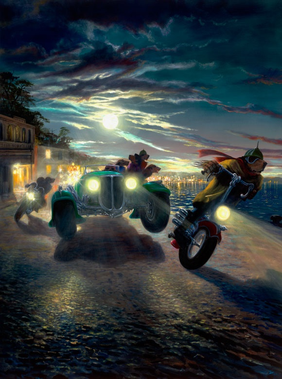 """Alveridge 500""  Lonely Dog collection- Ivan Clarke"