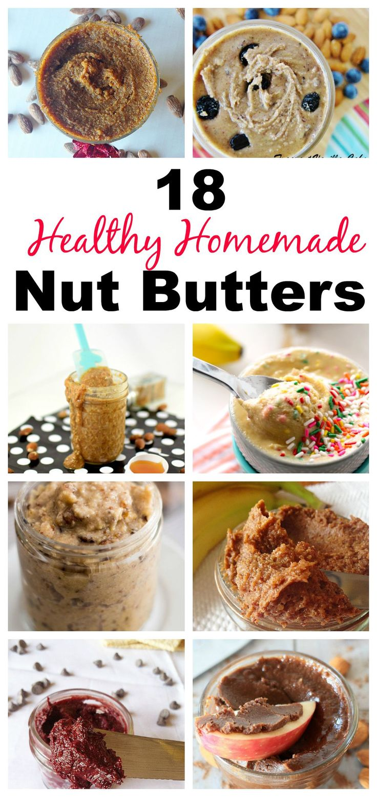 Don't Wanna pay 26 dollars for a jar of almond butter? Now you don't have to! Make these easy, healthy and delcious DIY Nut Butters in your own home and save lots of money! With flavors ranging from Birthday Cake to Pumpkin Salted Caramel, these Nut Butters can please anyone! #healthy #vegan #paleo