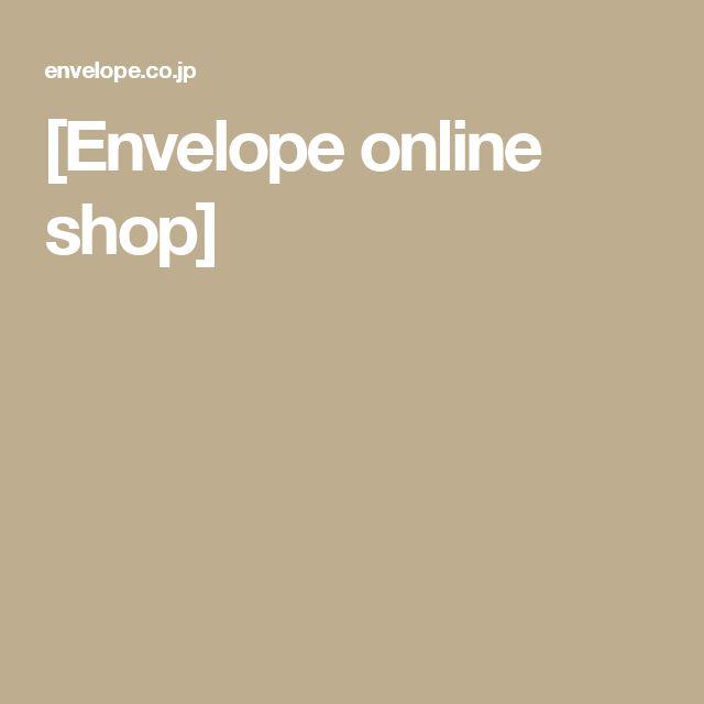 [Envelope online shop]