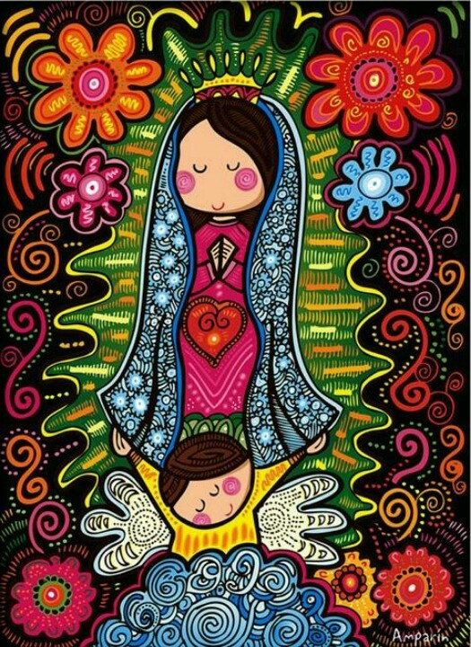 Virgen de gpe.