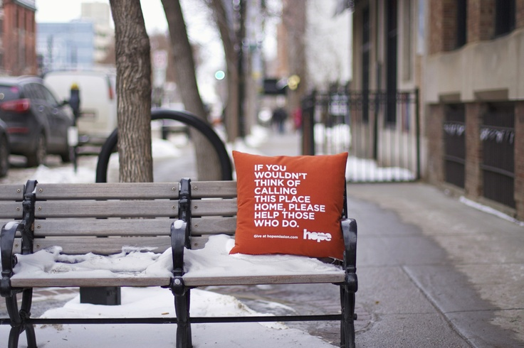 If You Wouldn't Think of Calling This Place Home, Please Help Those Who Do. #yeg #edmonton #hope #design #homelessness