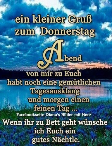 Donnerstag Abend