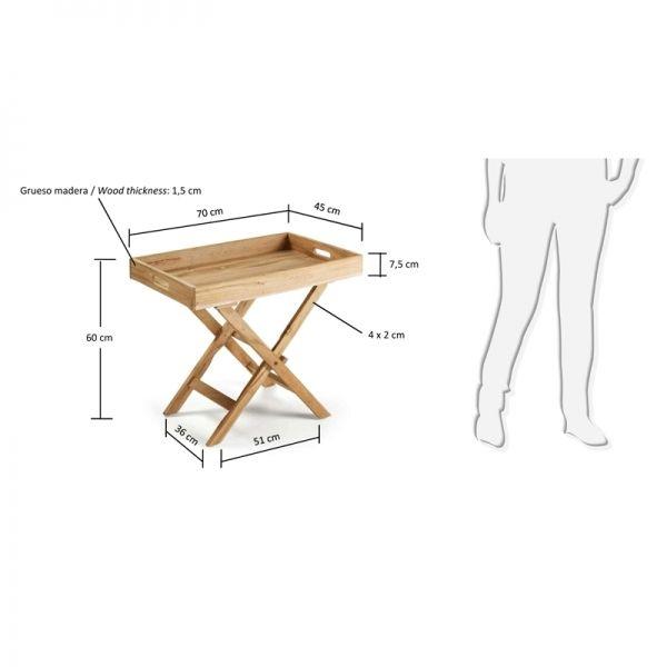 M s de 1000 ideas sobre mesa plegable en pinterest mesas - Mesa plegable salon ...