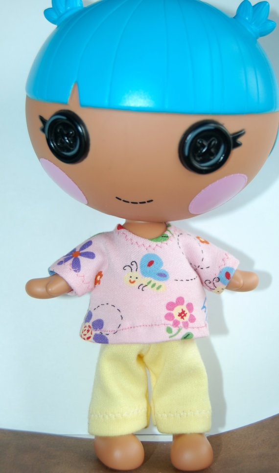 lalaloopsy littles 7 quot doll clothes pink butterfly yellow