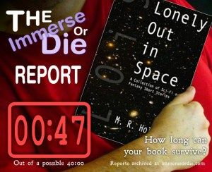 Lonely Out in Space: A Collection of Sci-Fi and Fantasy Short Stories by M.R. Holman (0:47)