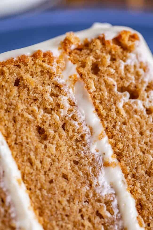 Homemade Spice Cake With Cream Cheese Frosting From The Food Charlatan The Best Homemade Spice Cake Is Bright W In 2020 Homemade Spice Cake Homemade Spices Spice Cake